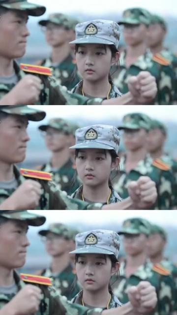 这是别人家的教官。#军训 #教官 #有点甜